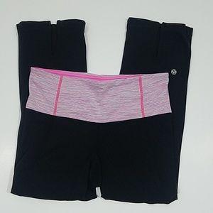 Lululemon - Space Dye Cropped Yoga Pants